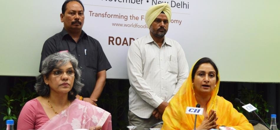 food processing companies to come directly to farmers, says harsimrat kaur badal