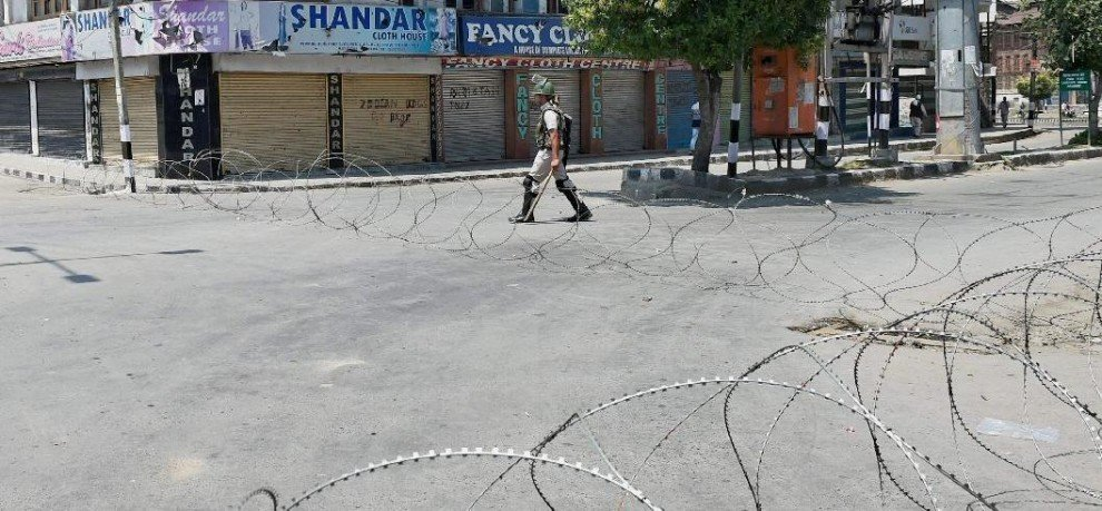 Tough situations in Kashmir valley