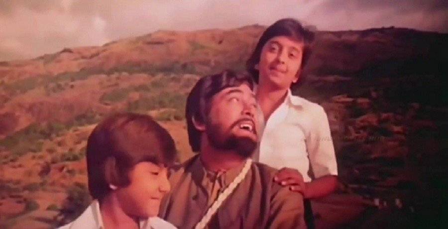 Flashback of Khuddar film song Oonche Neeche Raste
