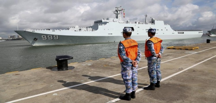 Chinese navy eyes on Indian ocean, says our ammunition are not toys