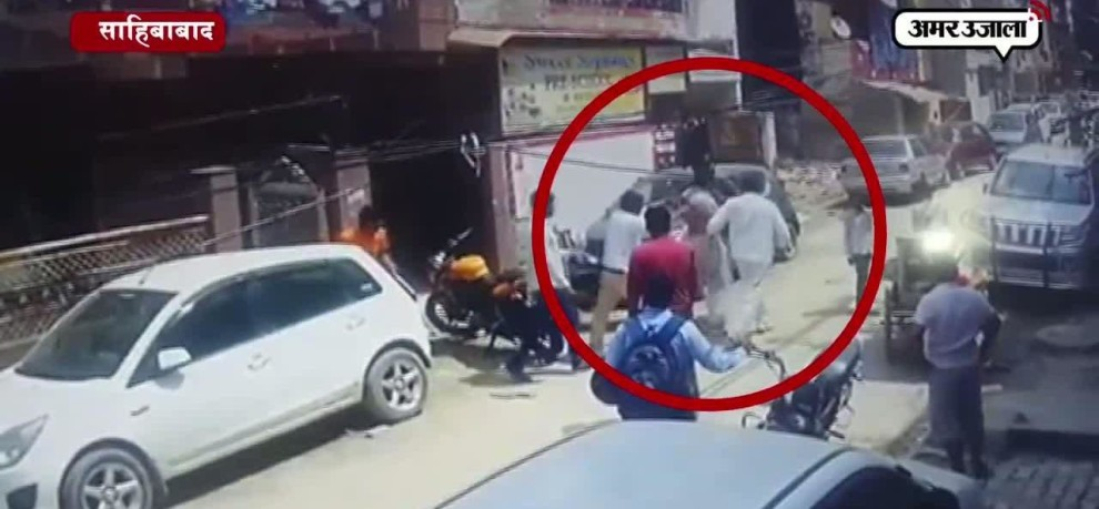 LIVE KIDNAPPING IN GHAZIABAD, KIDNAPPERS SURRENDER WITHIN MINUTES