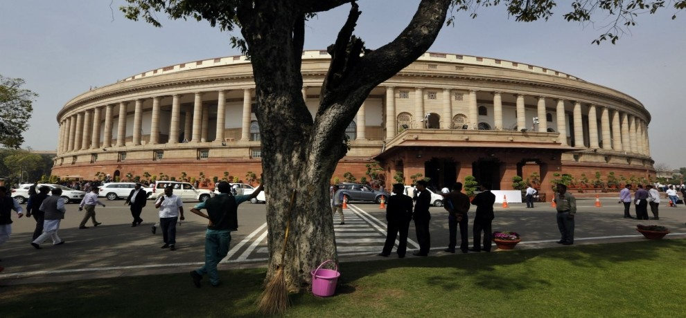 Security of the Parliament increased after getting explosive in UP Assembly