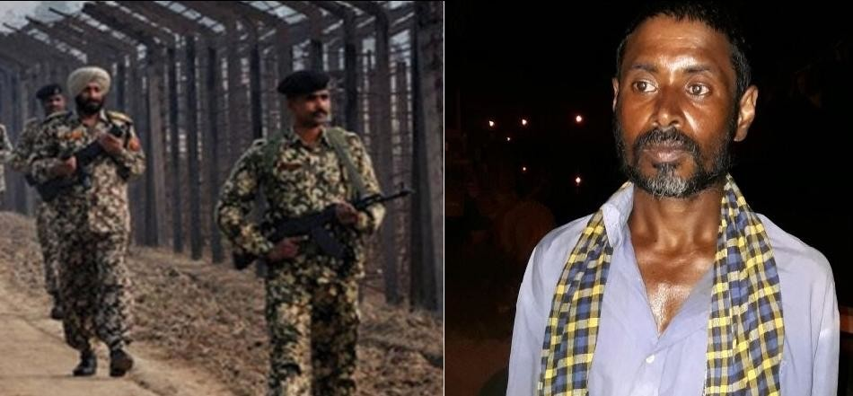 punjab bsf arrested suspicious man from indo pak border