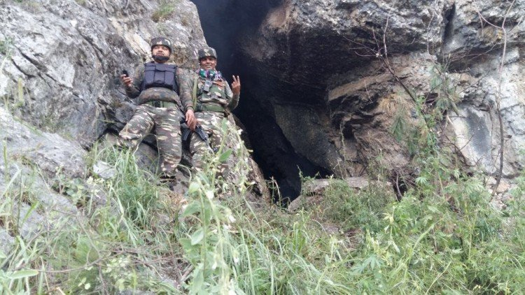 cave found in tral of south kashmir