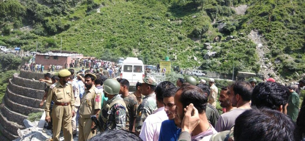 first ten images came after accident in ramban