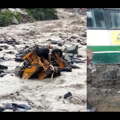 Himachal Pradesh heavy rain cause damage in chamba