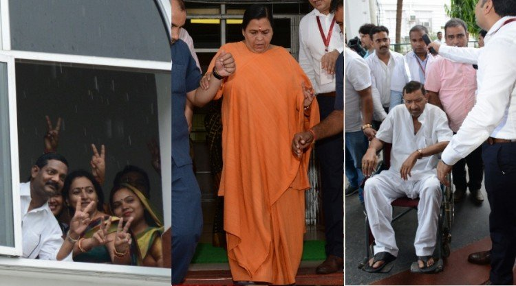 pictures of president election in uttar pradesh