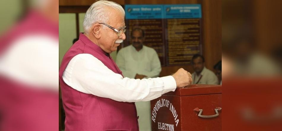Presidential Election, Haryanaprocess of voting ends