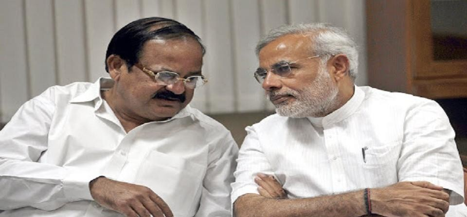 Vice president election: venkaiah naidu will be the NDA candidate