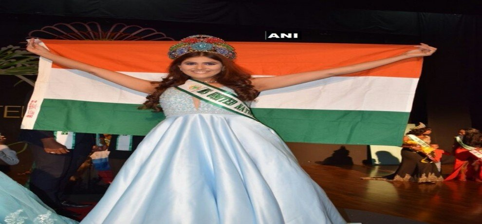 Air India's cabin crew member Amisha wins Miss United Nations