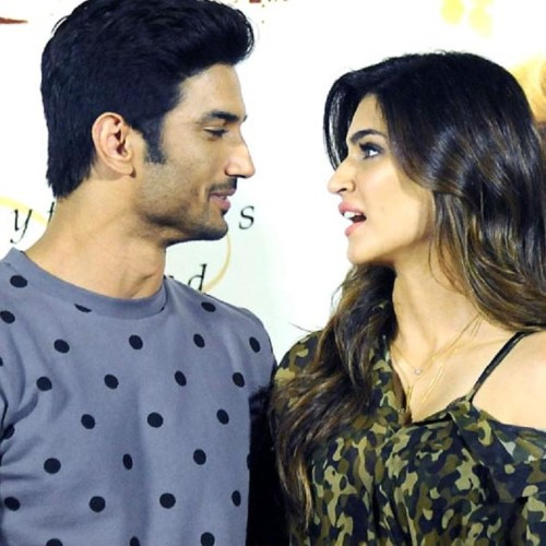 kriti sanon speaks over the relationship with sushant singh rajput