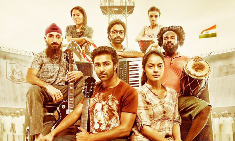 Yash Raj New Film With Debutants Aadar Jain And Anya Singh Qaidi Band Poster Release