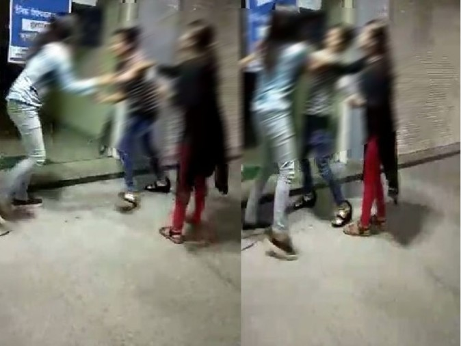video viral two girlfriends fight for lover