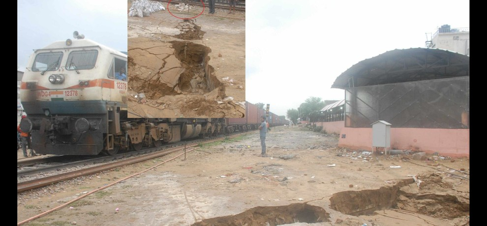 Negligence of railway officials jaipur