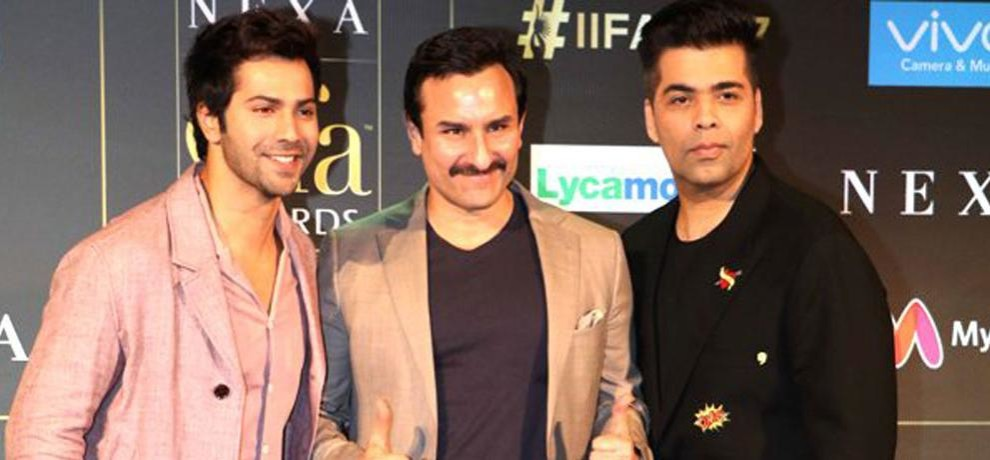 Twitter Not Happy With Karan Johar Saif Ali Khan Varun Dhawan Making Fun Of Kangana Ranaut At IIFA