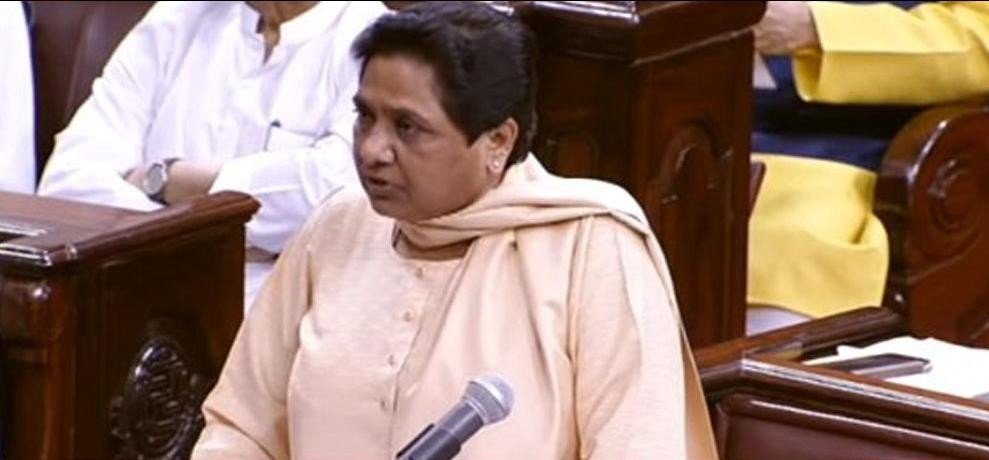 ruckus in rajysabha on saharanpur violence and mayawati says on it in monsoon session in parliament