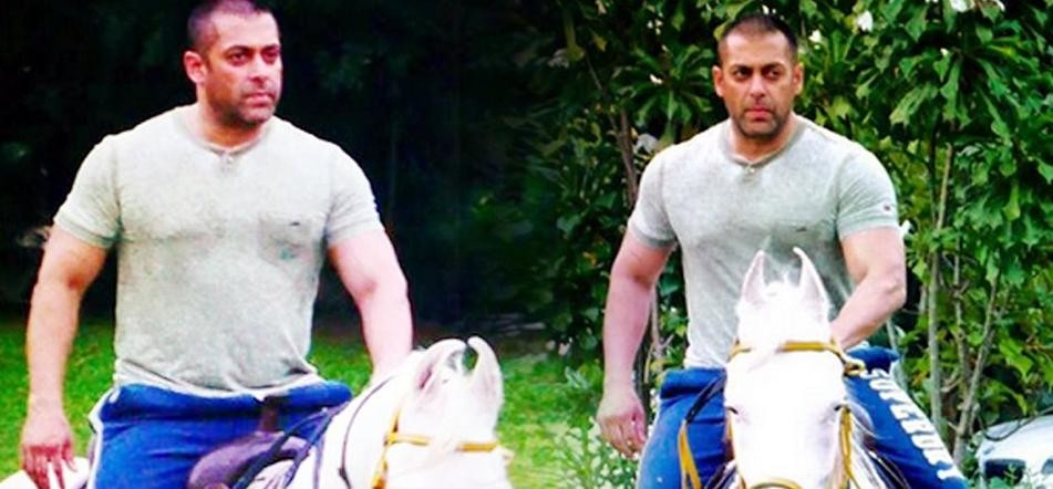 Salman Khan goes for horse riding for Tiger Zinda Hai in Morocco leg of shooting