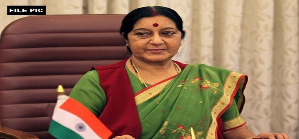 sushma swaraj issuied visa to pok student, for medical treatment
