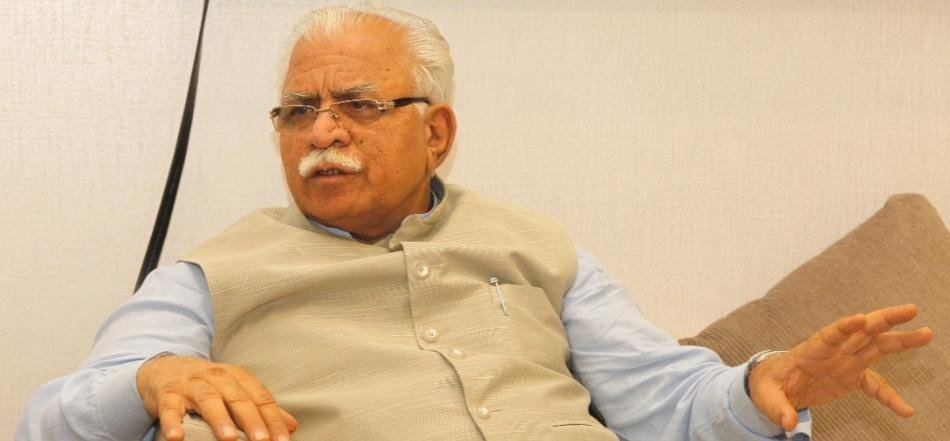 haryana cm khattar order to stay salary of more than one lakh teachers at diwali