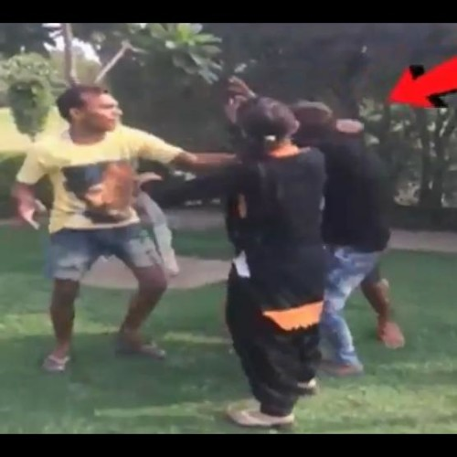 Gang of boys beat up couple for sitting in park