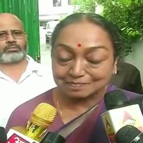 i have great belief in ideology i fought for, meira kumar, just before presidential polls results