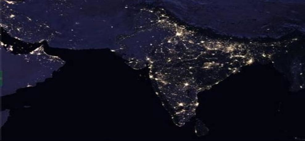 India shines brighter than China on NASA Map and the Chinese are not happy