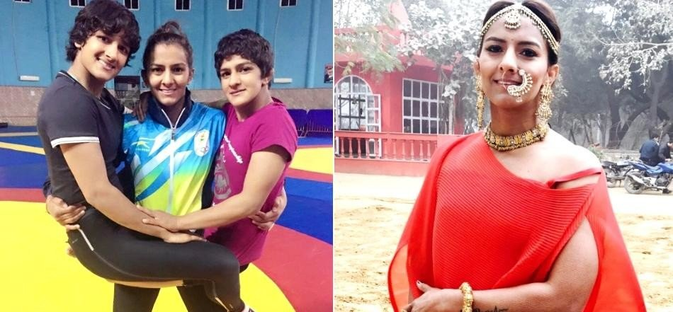 Wrestler Geeta Phogat Instagram photos with husband Pawan Kumar