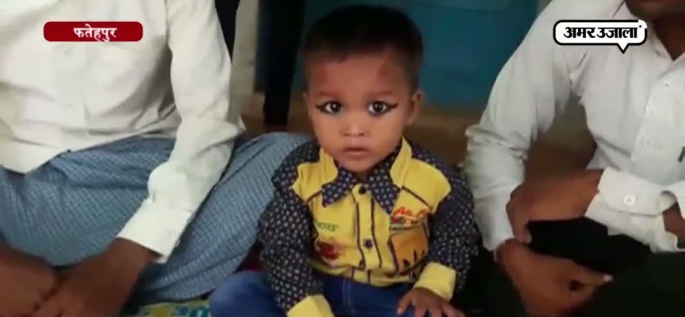 3 year old google boy in fatehpur