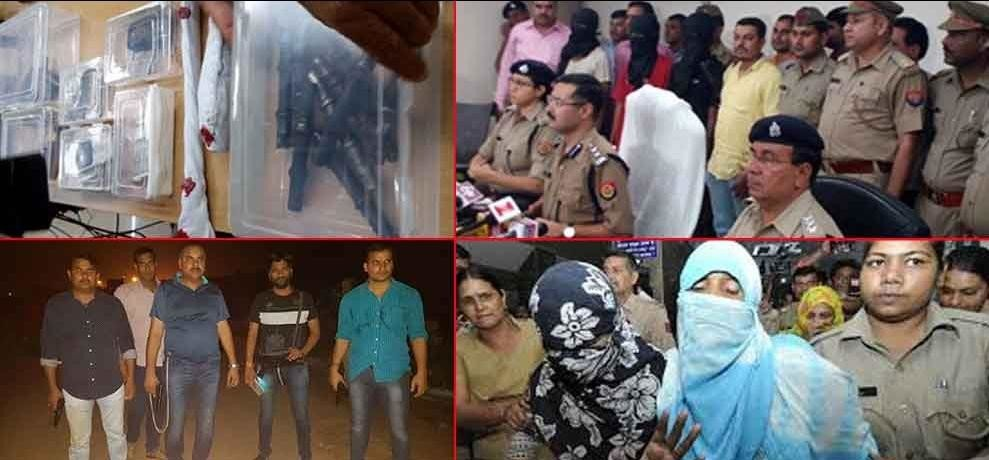jewar gang rape accused modus operandi and tools seized by noida police
