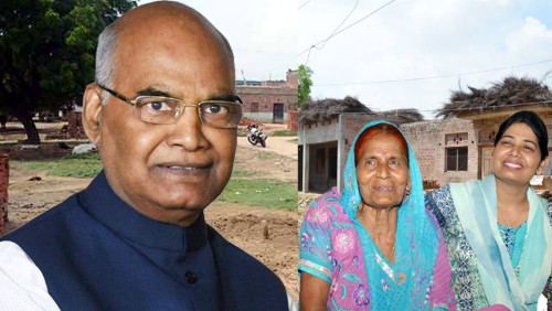 First big gift to the village of President Ramnath Kovind