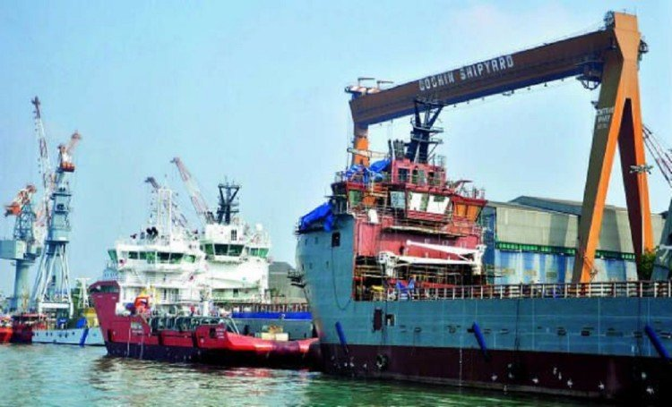 Government Jobs For 10th Pass In Cochin Shipyard Salary