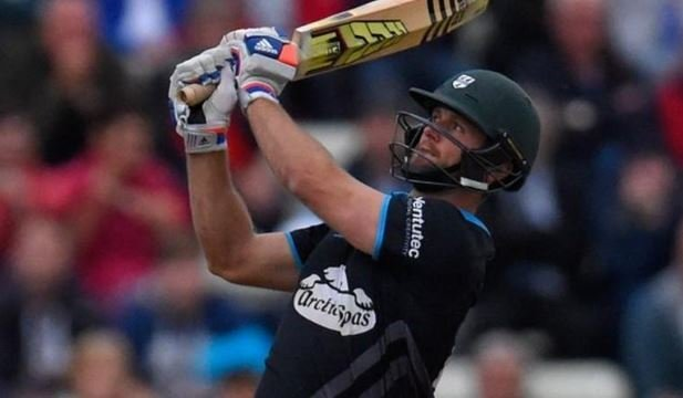 ross whiteley of worcestershire hits 6 sixes in an over in natwest t20 blast