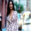 Priyanka Chopra seen in floral print dresses