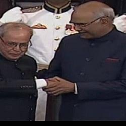 रायसीना में राम'राज', कोविंद बने देश के 14वें राष्ट्रपति, चीफ जस्टिस ने दिलाई शपथ