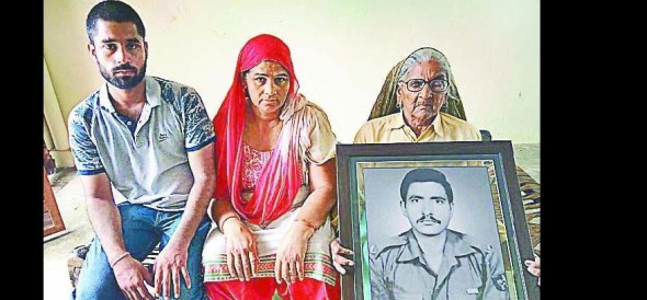 After all, why does the government forget the son's martyrdom