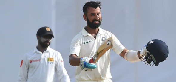 Cheteshwar Pujara Scores his 12th test ton in Galle test