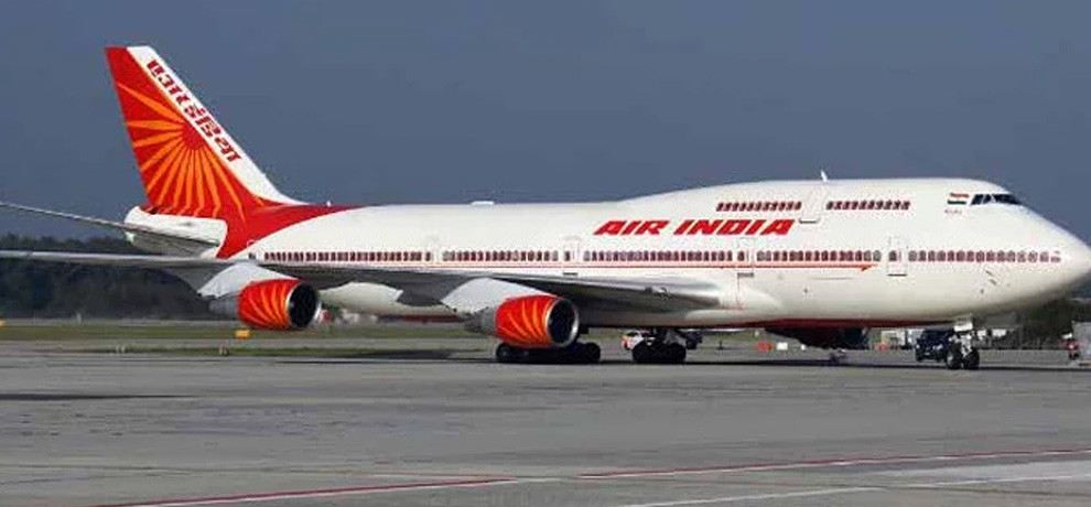 Air india flight emergency landing at babatpur airport