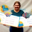 19 year old teenager Rosa Dominiguez wins jackpot twice in a week