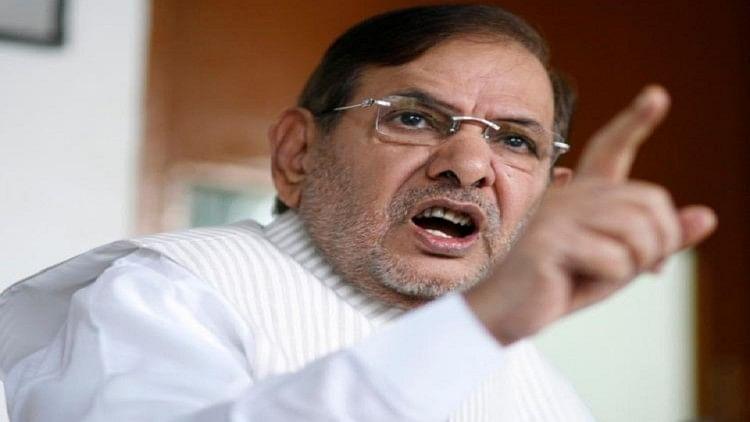 Image result for शरद यादव का भाजपा पर जोरदार हमला