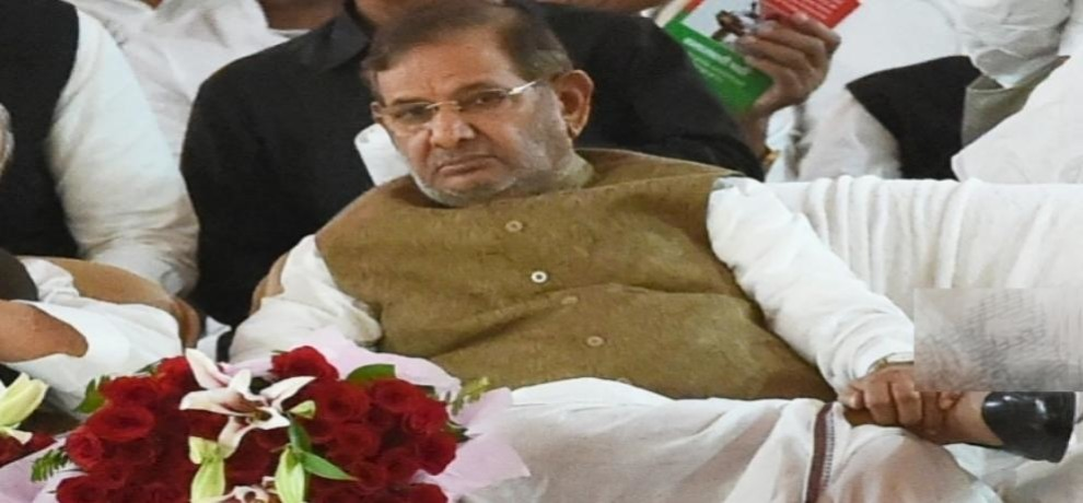 Sharad Yadav removed from Rajya Sabhas party leader post by JDU