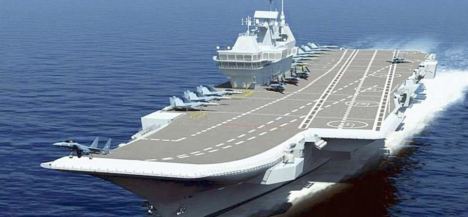 Navy carries out trials of new aircraft for INS Vikramaditya