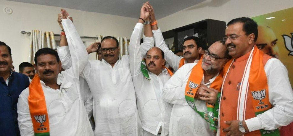 bukkal nawab, yashwant singh and jaiveer may join bjp today