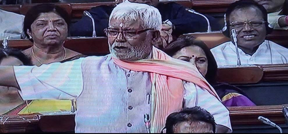 BJP MP hukumdev narayan attacked on congress on allegley alliagtions of mob lynching