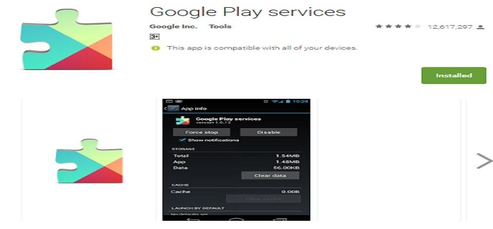 Google Play Services becomes first app to five billion downloads
