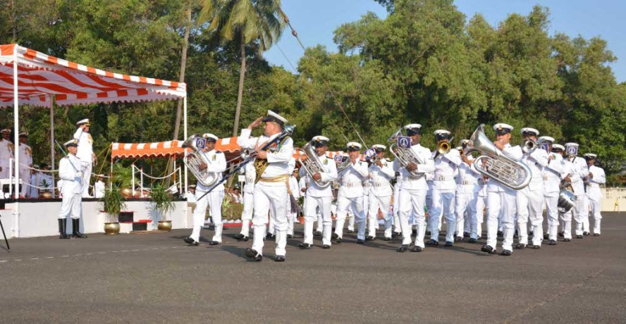 Indian Navy band will participate in Edinburgh Military Tattoo