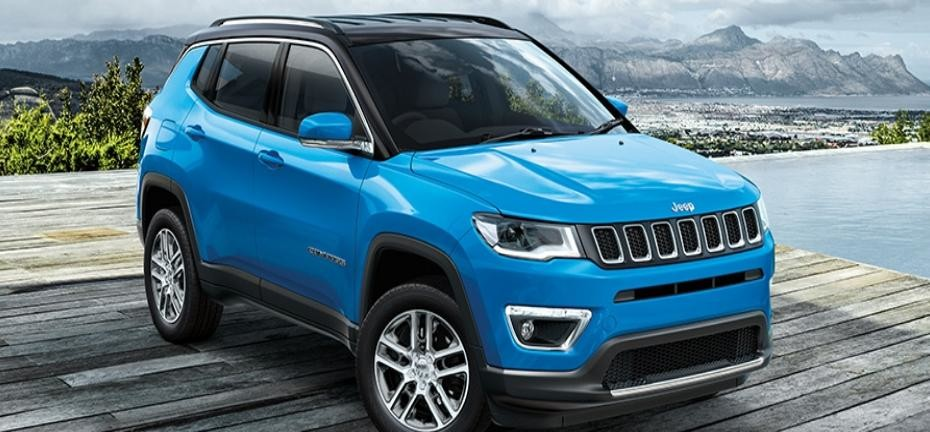 Made in India SUV Jeep Compass crossed 10000 booking Mark