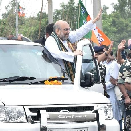 BJP chief Amit Shah in Hooda stronghold