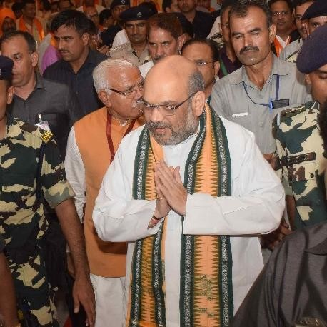 BJP President Amit Shah on Mission 2019