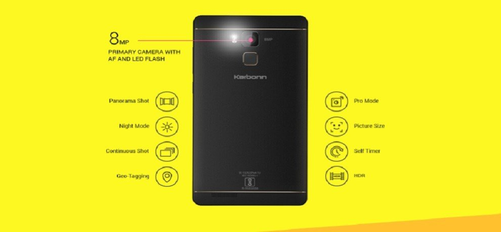 Karbonn Aura Note Play launched with 3300mAh battery at Rs 7590