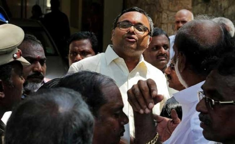 cbi sent summon to Karti Chidambaram